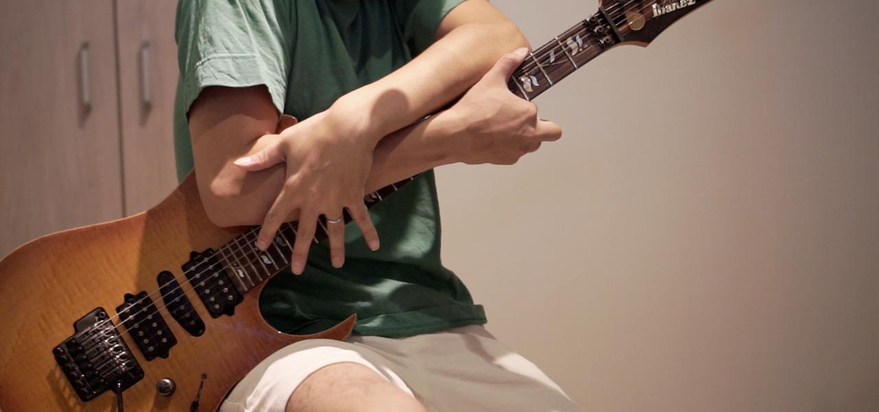 ギターテクニックを紹介