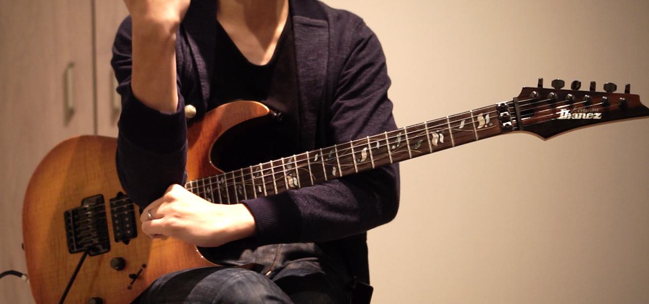 ギターでチョークスリーパー